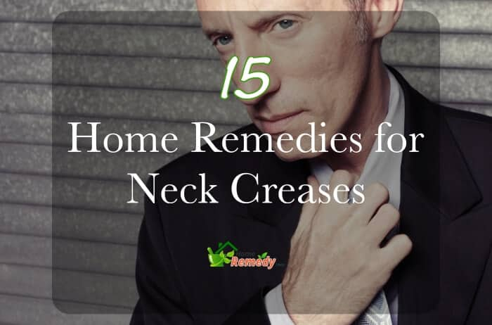man loosening tie caption home remedies neck creases
