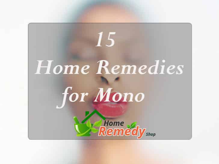 home remedies for mono