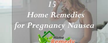 home remedies for pregnancy nausea
