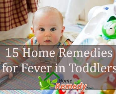 home remedies for fever in toddlers