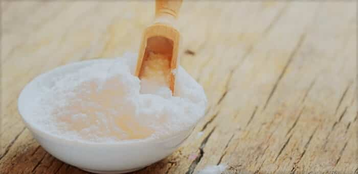 выпечки соды в миску