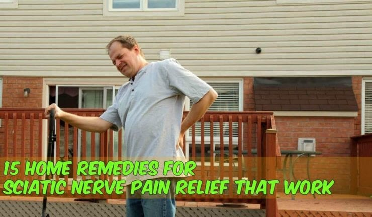 sciatic nerve pain while doing work with home remedies caption