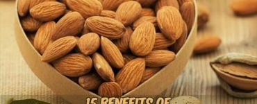almonds in box with caption