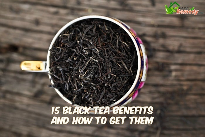 black tea in a cup