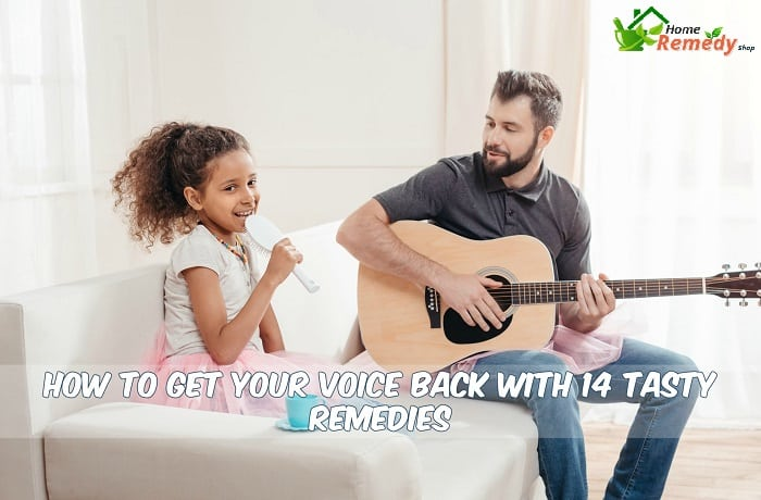 little girl singing with her father