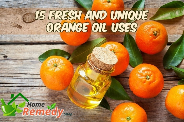 orange oil uses