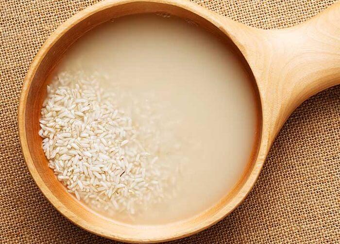 rice water