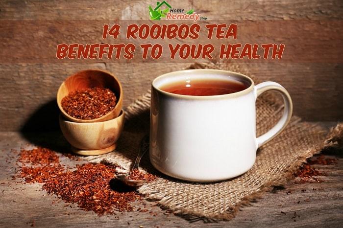 rooibos tea in cup
