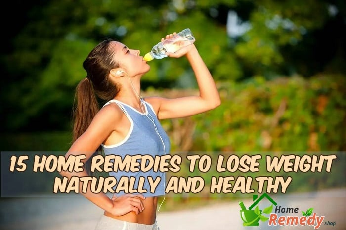 home remedies to lose weight