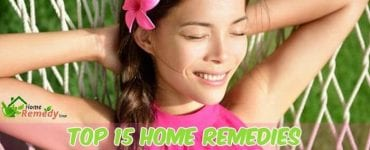 woman relaxing hammock caption home remedies for armpit rash