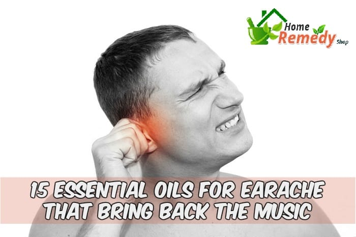 young man with ear pain