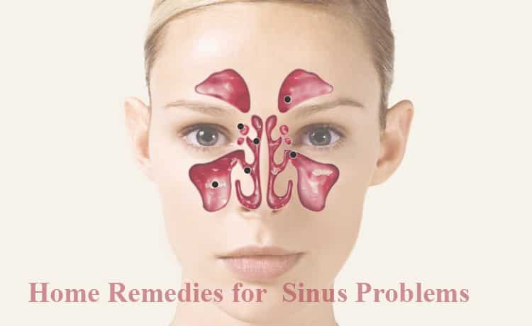 Home Remedies for Reducing Sinus Problems