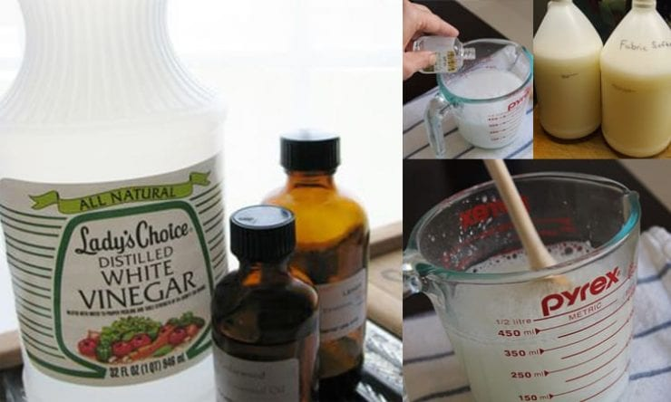 how to make natural fabric softener