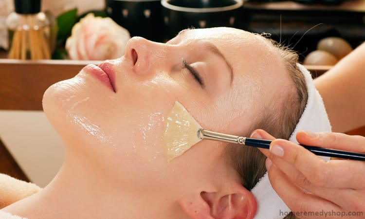 Facial homemade remedy