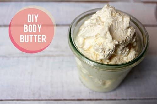 DIY Homemade Cocoa Body Butter