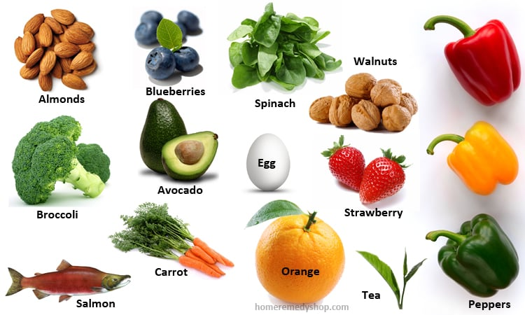 14 Super Foods for Hale and Hearty Eyes - Home Remedies