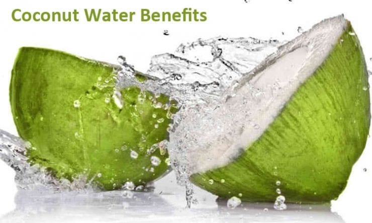 Glass of Coconut Water