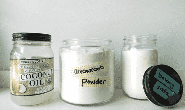 Homemade Coconut Deodorant  Ingredients