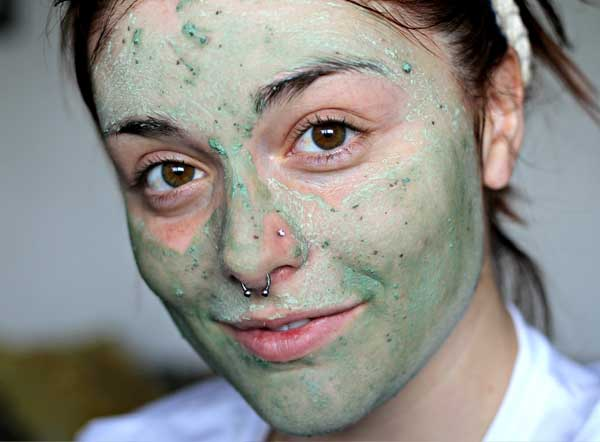 mint facial mask