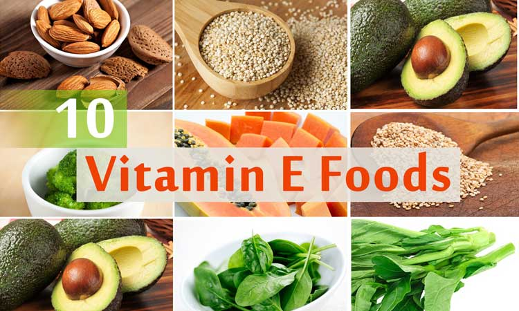 List Foods With Vitamin E