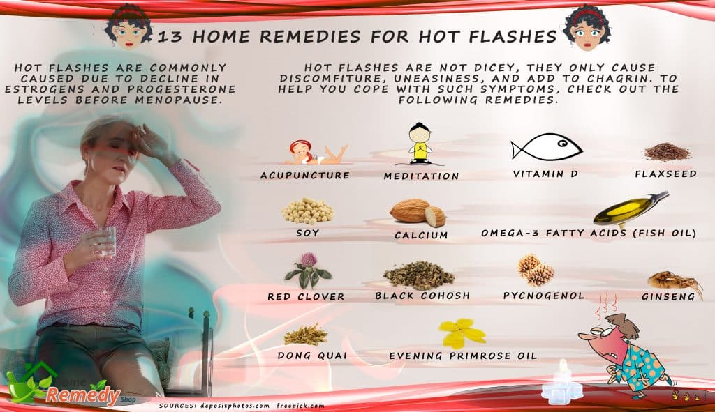 What Is A Natural Remedy For Hot Flashes
