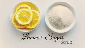 Sugar-and-Lemon-Juice-Scrub