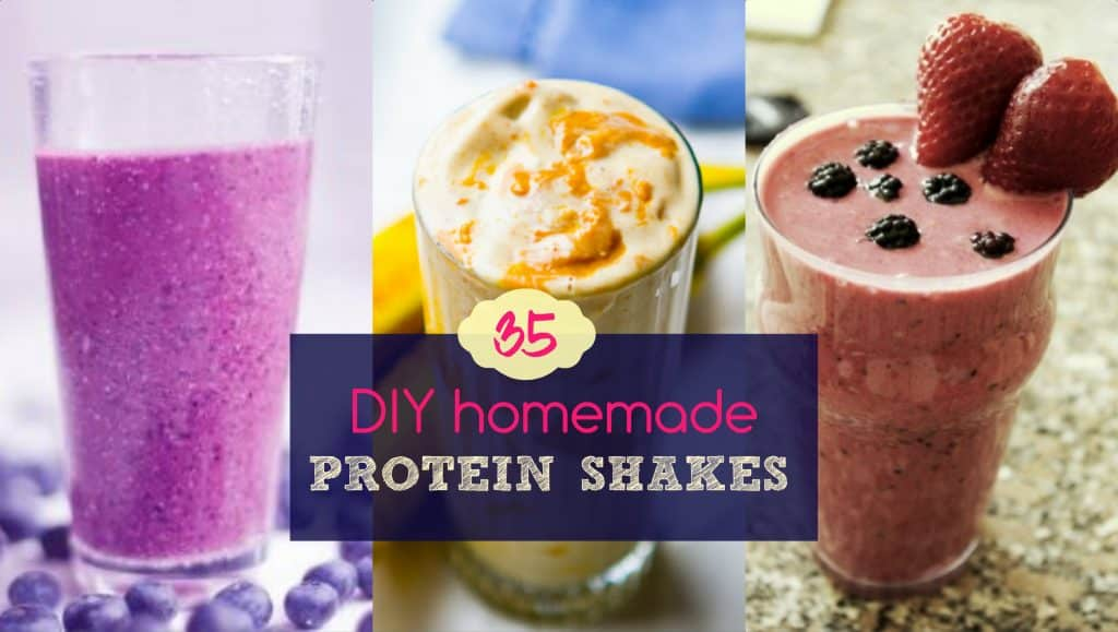 Homemade Muscle Building Protein Shakes