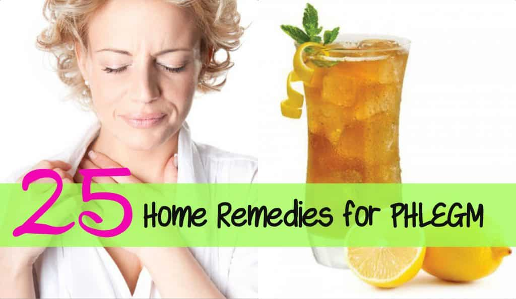 Home Remedy For Phlegm In Nose