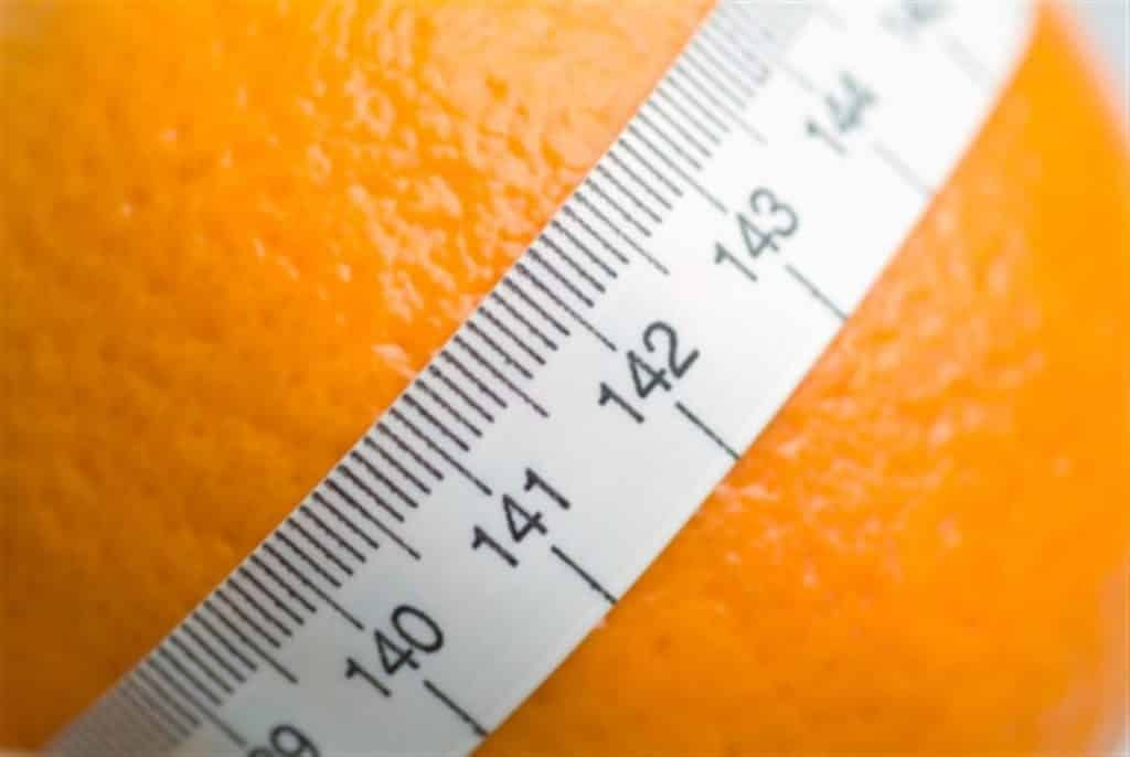 get rid of orange peel aspect of theskin and lose centimeters