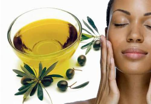 olive oil as natural face moisturizer