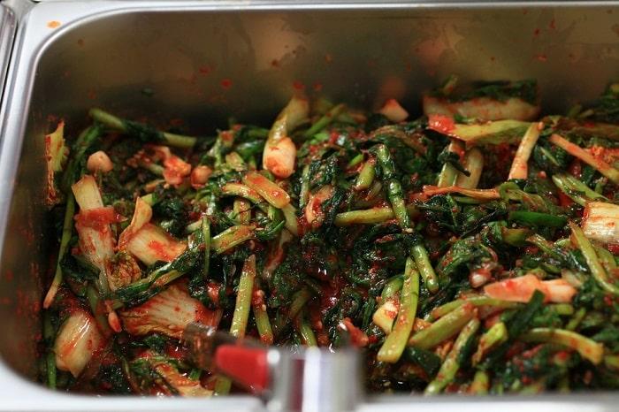 kimchi appetiser