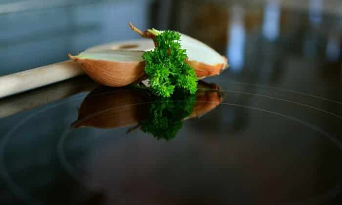 parsley on table