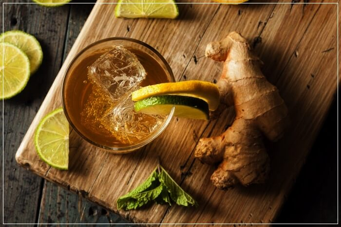 ginger and ginger lemonade