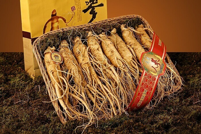 ginseng in a box