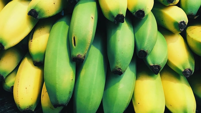 green unripe bananas, health benefits of bananas
