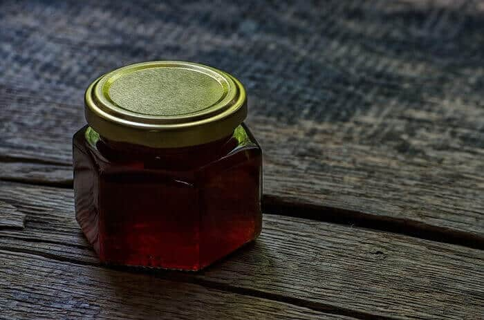 small honey jar