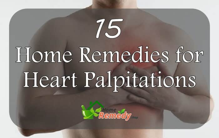 home remedies for heart palpitations