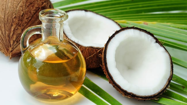 coconut oil, 10 Home Tips on How to Repair Damaged Hair