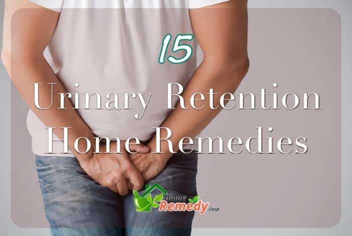Natural Remedy Urine Retention
