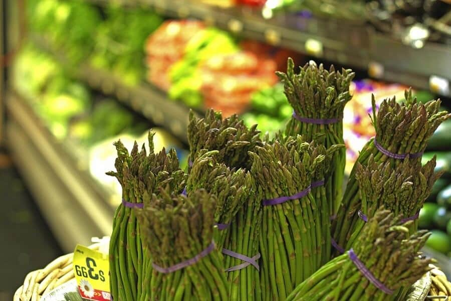 Asparagus in the market benefits of asparagus
