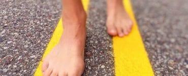 Walking Barefoot Burning Sensation in Feet