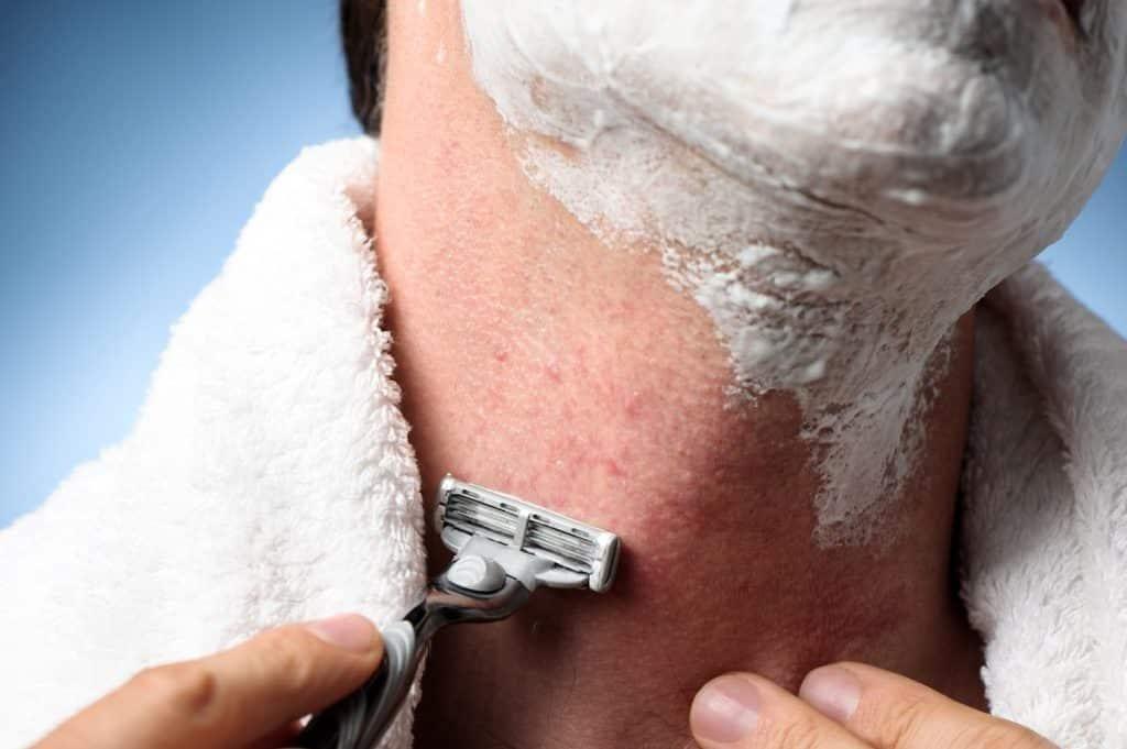Preventing razor burn bikini line phrase