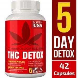 THC Detox Made in USA - 5 Day Detox - Bio-Cleanse + Liver Detox