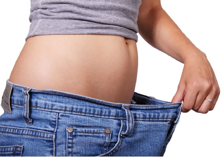 Weight loss after taking a saffron extract supplement