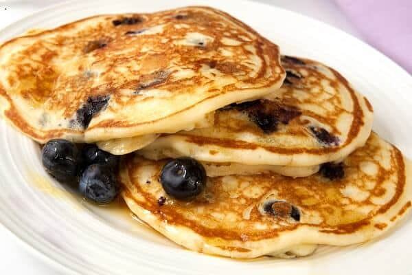 health benefits of blueberries in pancakes