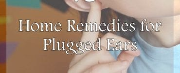 home remedies for plugged ears