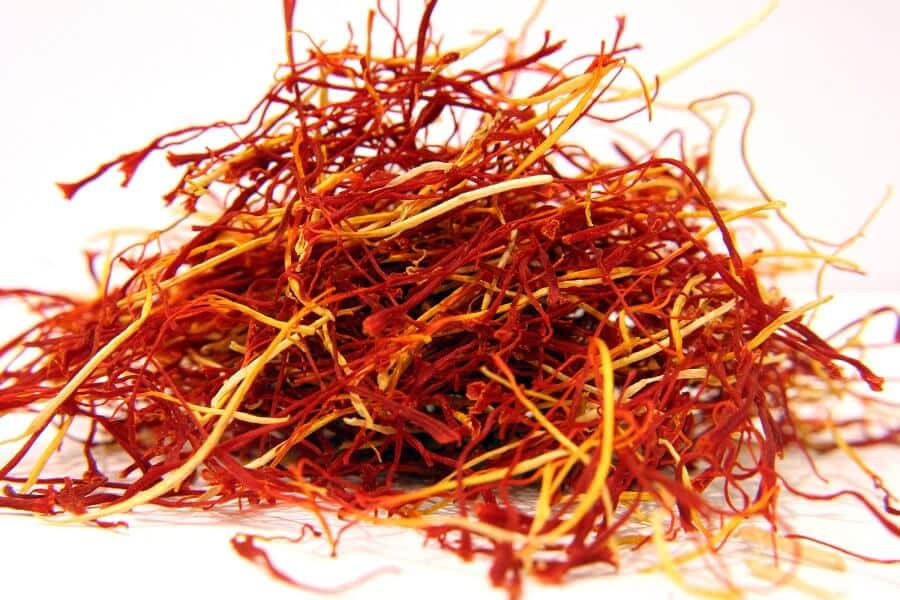 saffron as an ingredient in the saffron extract supplement