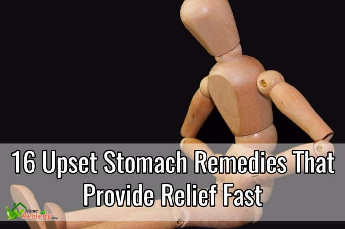 upset stomach remedies