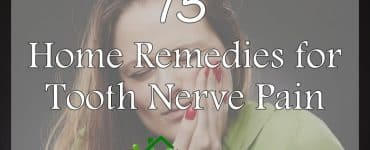 home remedies for tooth nerve pain